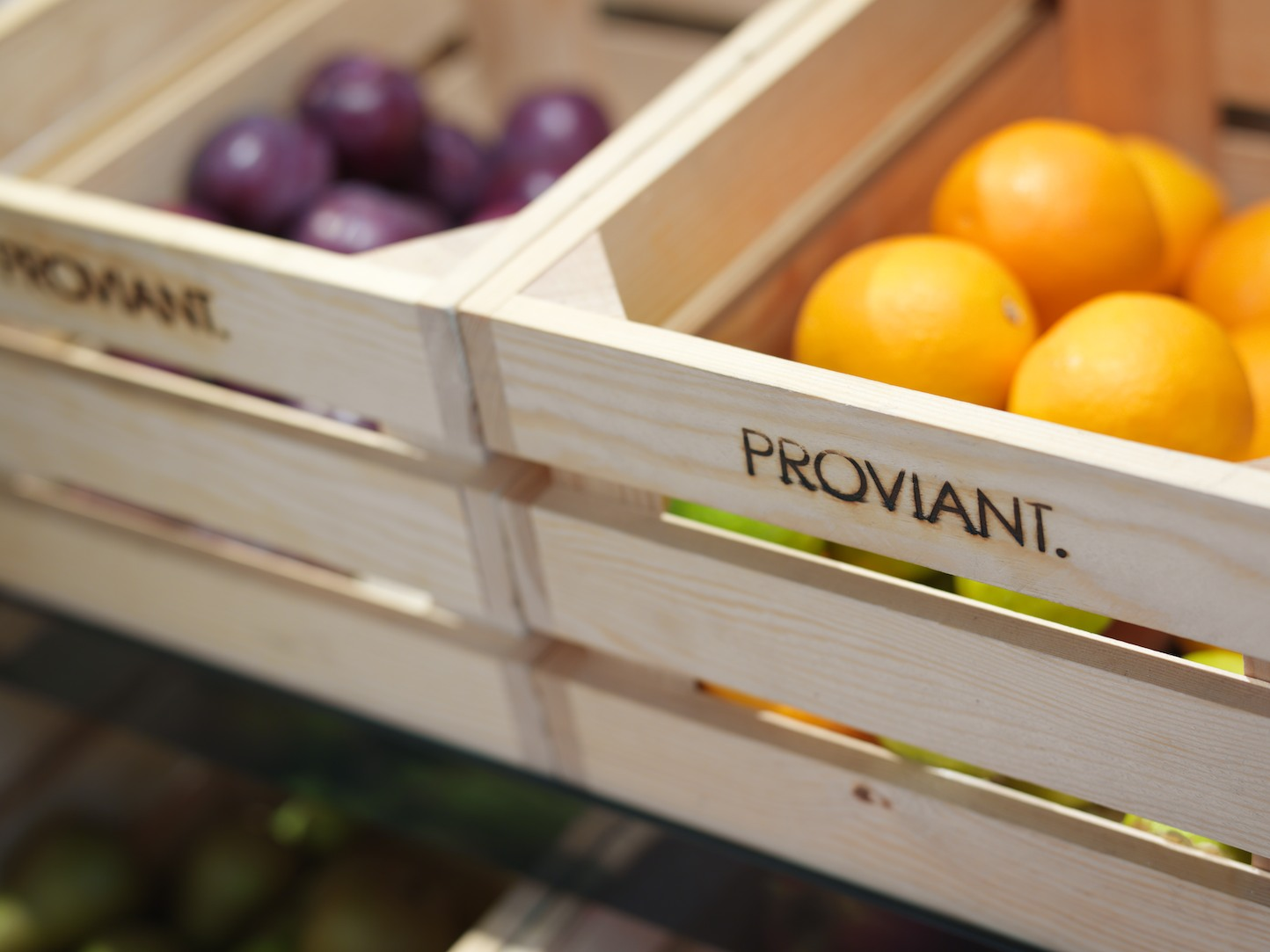 Proviant, Interior